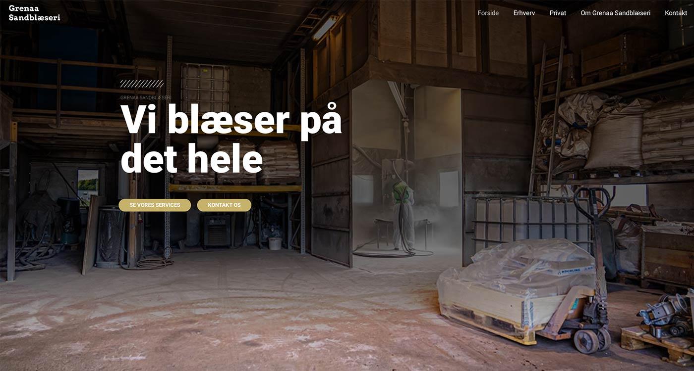 After-Grenaa Sandblæseri