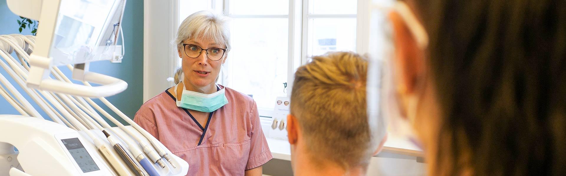 Tandlæge Pernille Diederichsen