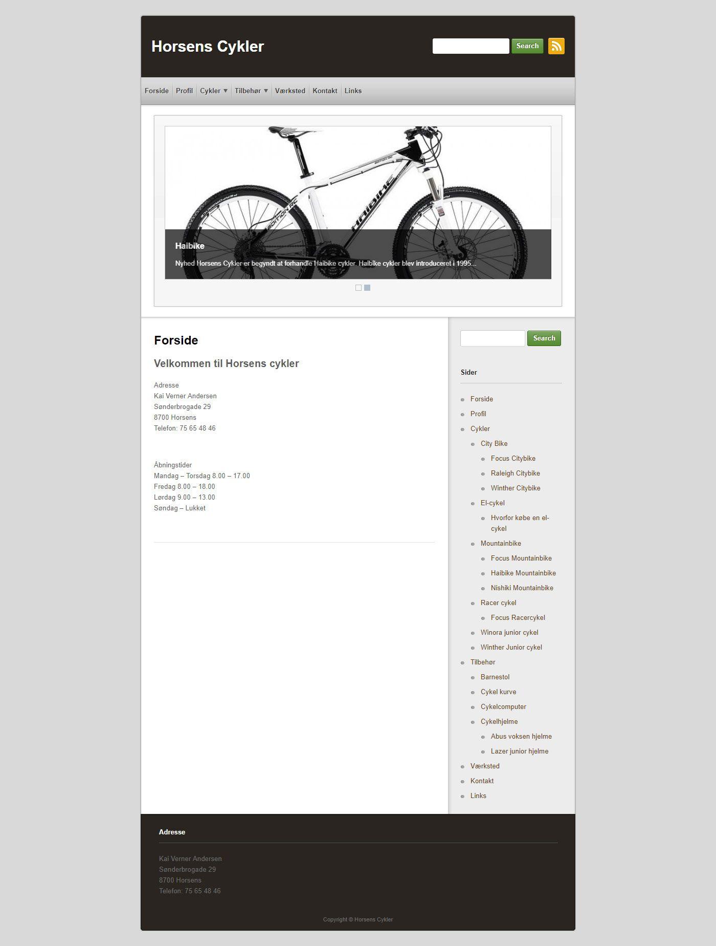 Before-Horsens Cykler